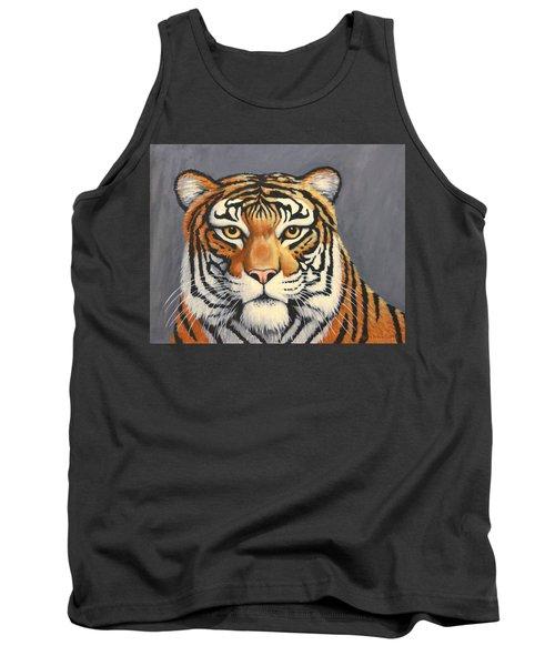 Malayan Tiger Portrait Tank Top