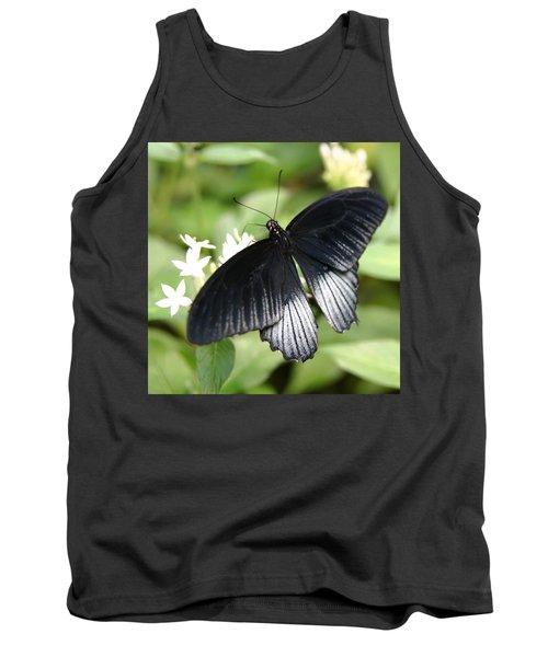Male Scarlet Swallowtail Tank Top by Denyse Duhaime