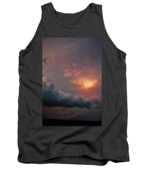 Mammatus At Sunset Tank Top by Ed Sweeney