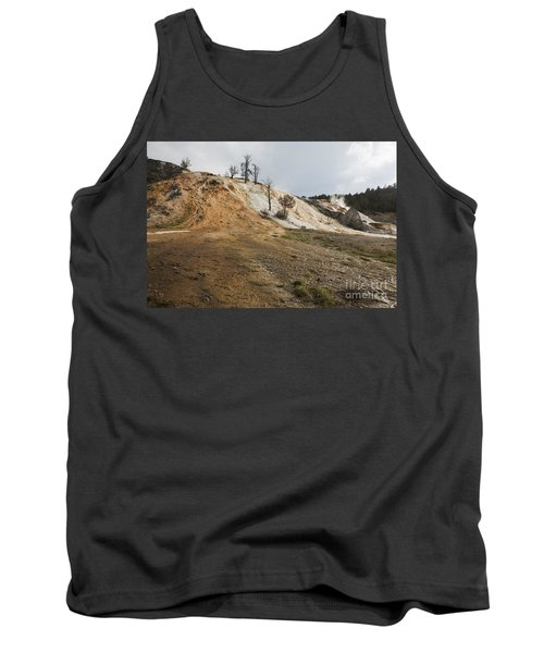 Mammoth Hot Springs Tank Top by Belinda Greb
