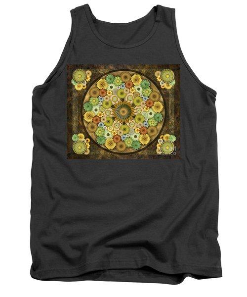 Mandala Stone Flowers Sp Tank Top