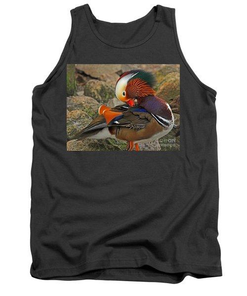 Mandarin Duck Tank Top
