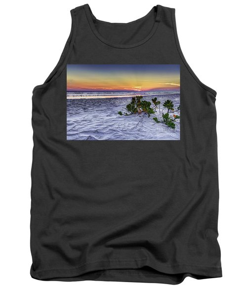 Mangrove On The Beach Tank Top by Marvin Spates