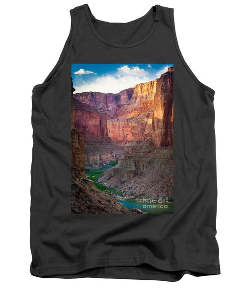 Marble Cliffs Tank Top by Inge Johnsson