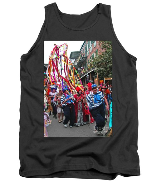 Mardi Gras In New Orleans Tank Top