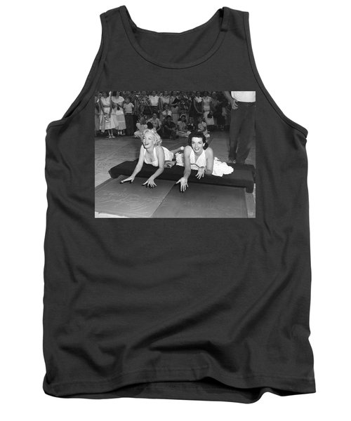 Marilyn Monroe And Jane Russell Tank Top