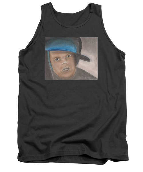 Tank Top featuring the pastel Master Guy by David Jackson