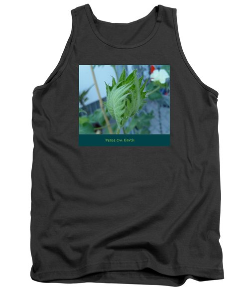 May Peace On Earth Tank Top by Lingfai Leung