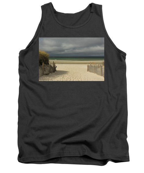 Tank Top featuring the photograph Mayflower Beach Storm by Amazing Jules