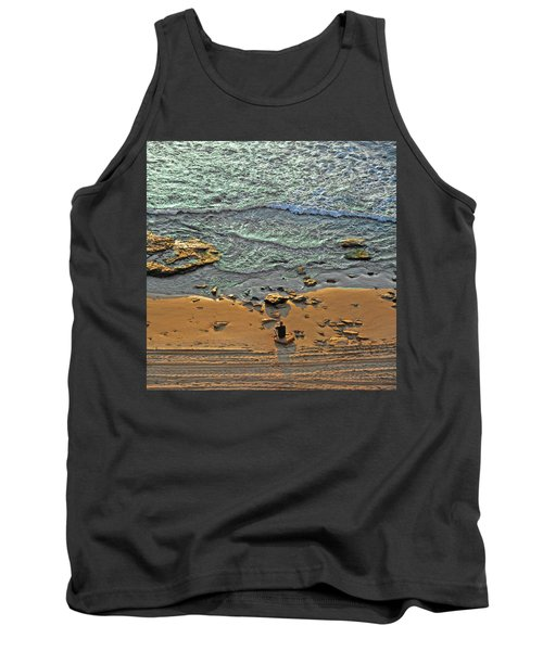 Tank Top featuring the photograph Meditation by Ron Shoshani
