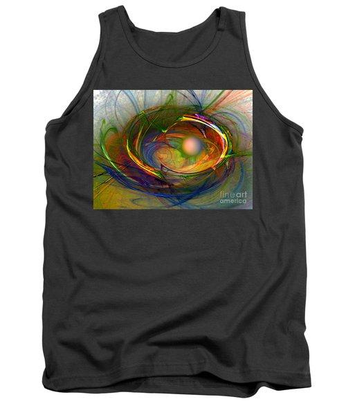 Melting Pot-abstract Art Tank Top