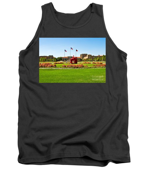 Tank Top featuring the photograph Memorial Circle by Mae Wertz