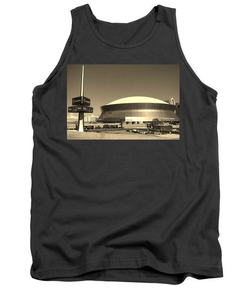 Mercedes Benz Superdome - New Orleans La Tank Top