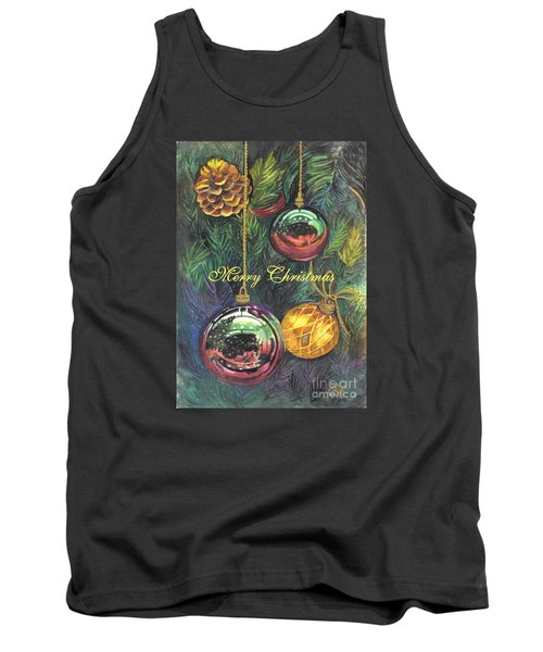 Merry Christmas Wishes Tank Top