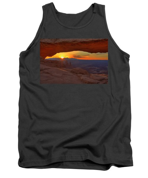 Mesa Arch Sunrise Tank Top by Alan Vance Ley