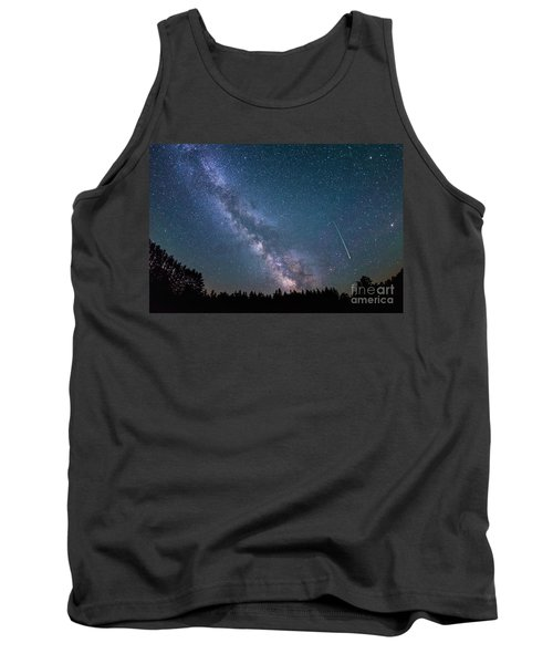 Meteor Milky Way  Tank Top