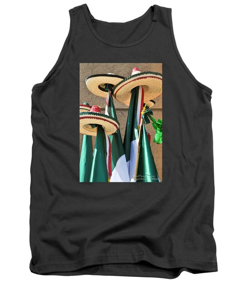 Tank Top featuring the photograph Mexican Independence Day - Photograph By David Perry Lawrence by David Perry Lawrence