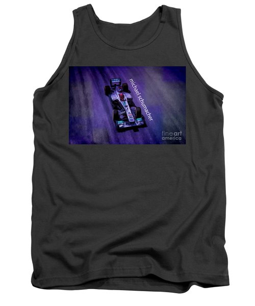 Michael Schumacher Tank Top by Marvin Spates