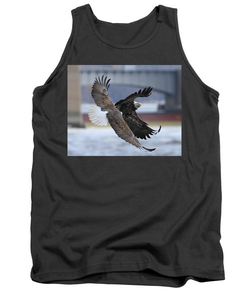 Mid Air Fight Tank Top by Coby Cooper