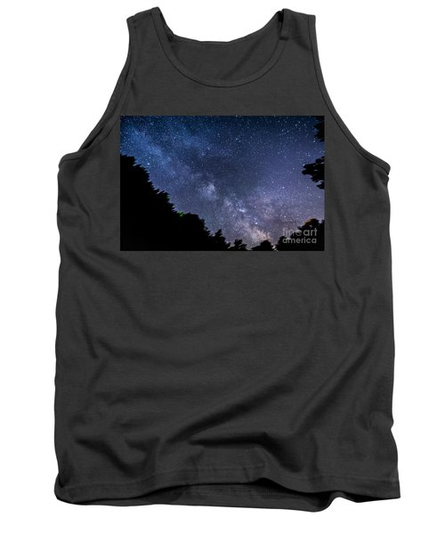 Milky Way Over Silver Springs Campground Tank Top by Patrick Fennell