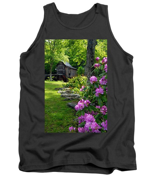 Mill And Rhododendrons Tank Top