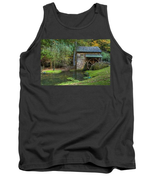 Mill Pond In Woods Tank Top