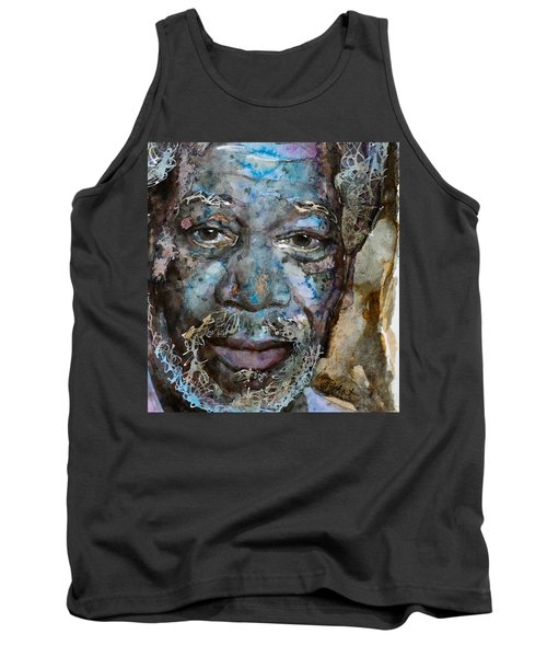 Tank Top featuring the painting Million Dollar Baby by Laur Iduc