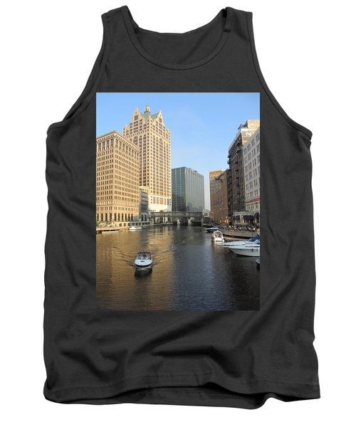 Milwaukee River Theater District 3 Tank Top
