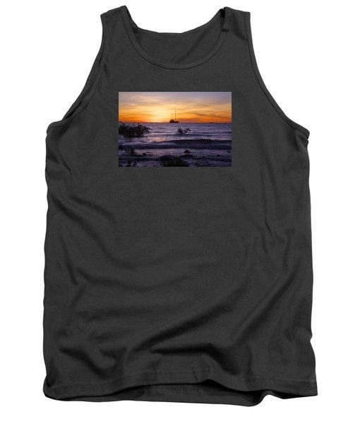 Mindil Beach Sunset Tank Top by Venetia Featherstone-Witty
