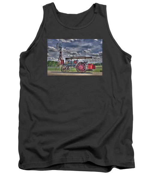 Minneapolis At The Windmill Tank Top by Shelly Gunderson