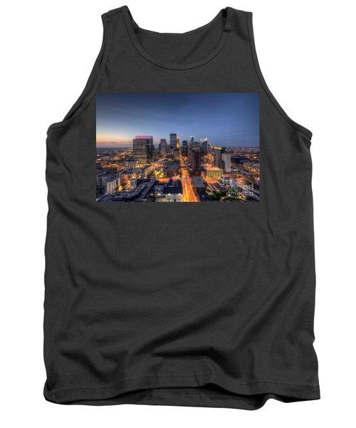 Minneapolis Skyline At Night Tank Top