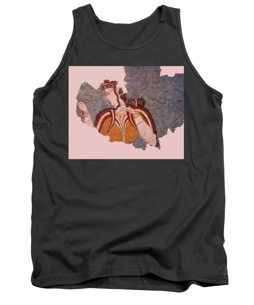 Minoan Wall Painting Tank Top
