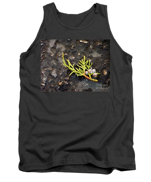 Tank Top featuring the photograph Missing Christmas by Meghan at FireBonnet Art