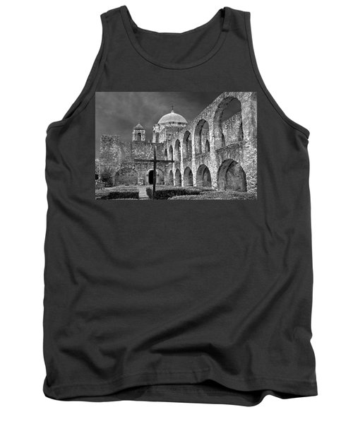 Mission San Jose Arches Bw Tank Top