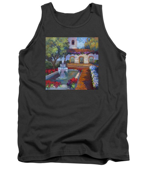 Mission Via Dolorosa Tank Top by Diane McClary