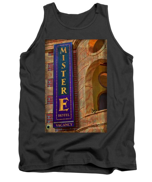 Mister E Hotel - Vacancy Sign Tank Top