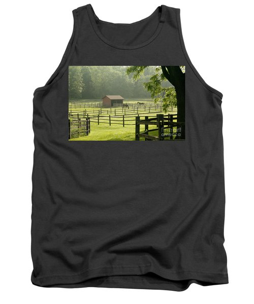 Misty Morning Maze Tank Top