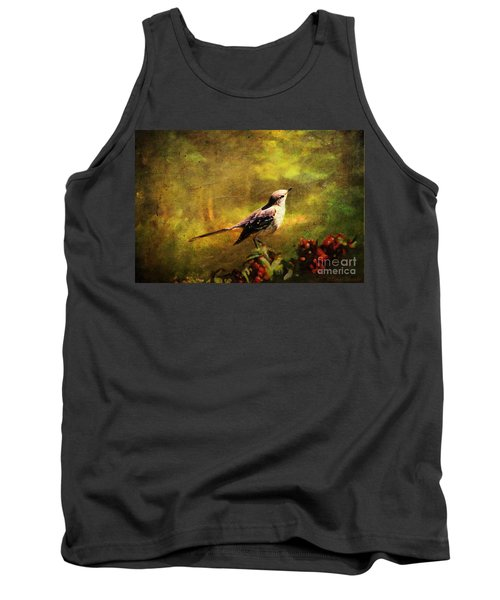 Mockingbird Have You Heard... Tank Top by Lianne Schneider