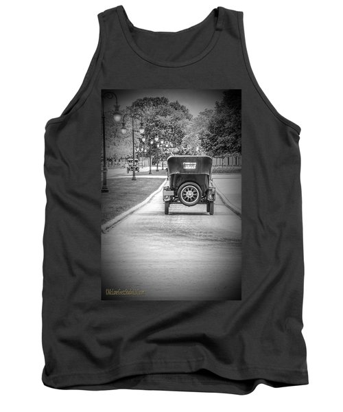 Model T Ford Down The Road Tank Top