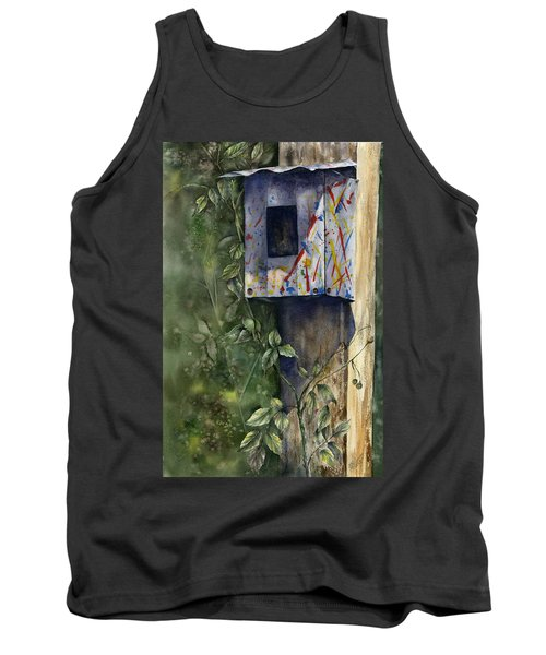 Modern Feathered Friends Tank Top