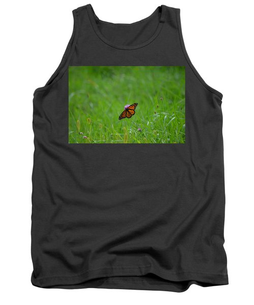 Tank Top featuring the photograph Monarch Butterfly by James Petersen