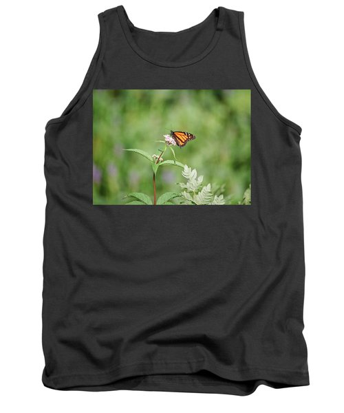 Tank Top featuring the photograph Monarch by David Porteus