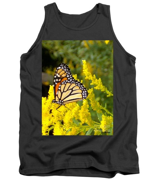 Tank Top featuring the photograph Monarch by Sara  Raber