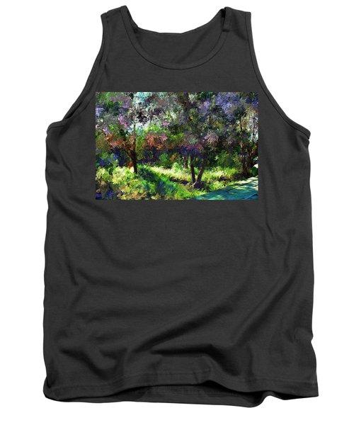 Monet's Garden Tank Top by Terence Morrissey