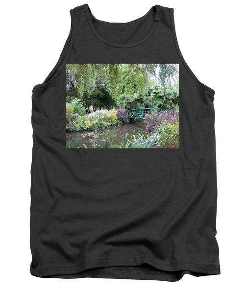 Monet's Japanese Bridge Tank Top