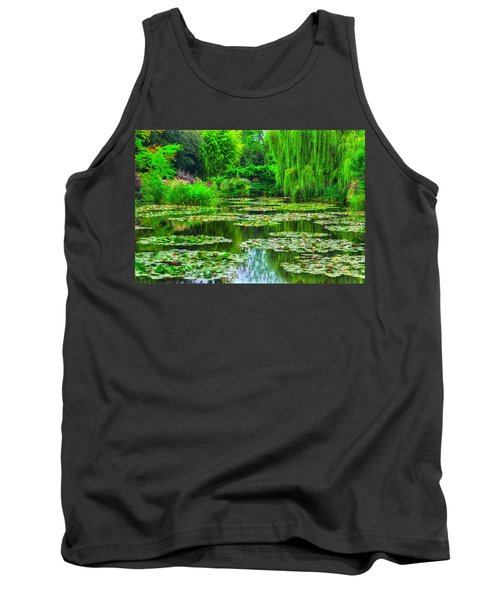 Monet's Lily Pond Tank Top