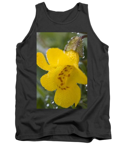 Tank Top featuring the photograph Monkey In Yellow by Sonya Lang