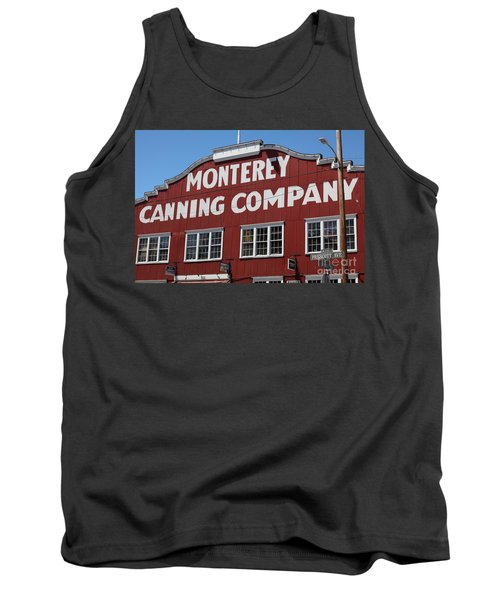 Monterey Cannery Row California 5d25039 Tank Top