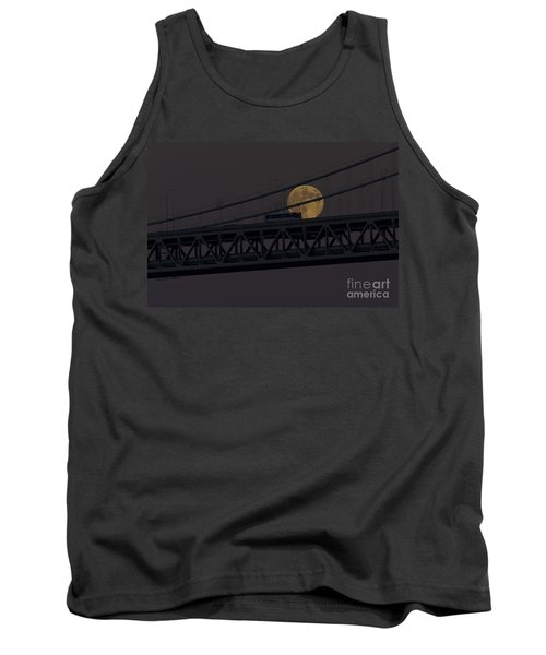 Tank Top featuring the photograph Moon Bridge Bus by Kate Brown