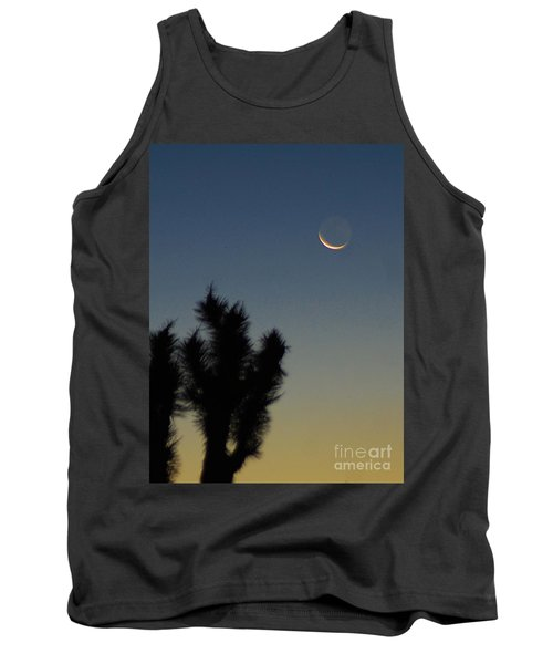 Tank Top featuring the photograph Moon Kissed by Angela J Wright